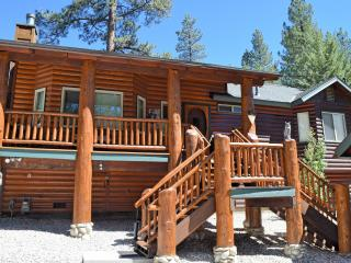 Dancing Bear Lodge: Log Cabin! Spa! Large Yard!, Big Bear Lake