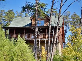 Luxurious Rustic Style, Private Deck W/Hot Tub, Pool Table, Sleeps 6, Dogs OK, Sevierville