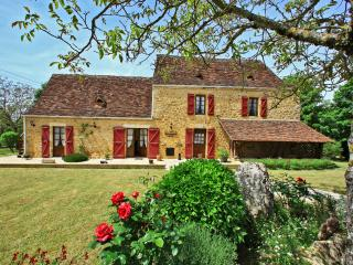 Romantic house 4* heated pool,wond.view, air condi, Saint-Julien-de-Lampon