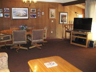 Living Room Flatscreen TV and Dining Room