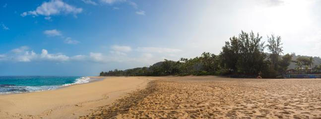 The dunes of Ke-Iki beach