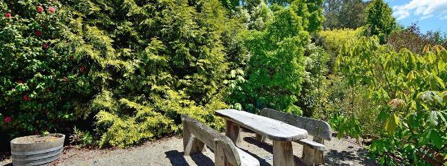 Seperate Picnic Area & Garden