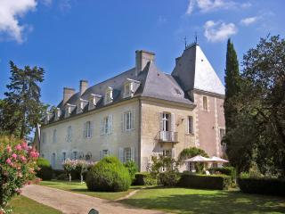 Chateau Gombardy and cottage, Beaumont-en-Veron