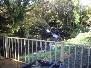 Snowdon Lodge set on the edge of Beddgelert Forest