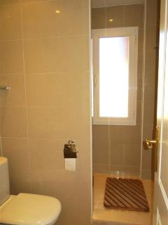 Downstairs bathroom, one of 3 bathrooms.