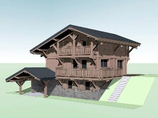 Luxury ski skis chalet traiteur disponible, Saint Jean d'Aulps