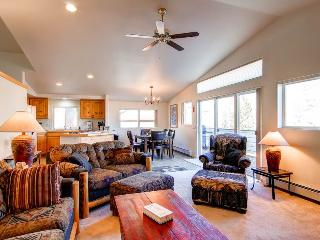 3 BR/ 2.5 BA warm and inviting vacation home, sleeps 9, private hot tub, pet friendly, Silverthorne