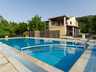 Holiday villa with a swimming pool in Kassiopi ,Corfu ,Greece
