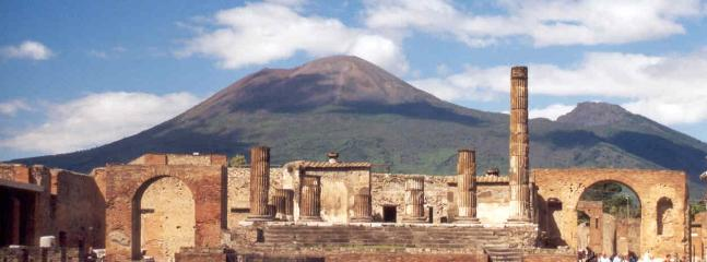 Pompei and Vesuvius 35 min by train