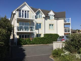 Boscombe Beach. 2 Bed GF Apt. Private SF garden. Own parking space.