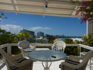Exclusive Isla Verde penthouse direct on beach