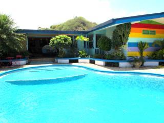 Villa Tamanuia - Tahiti - piscine jardin - 12 pers, Punaauia