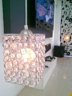 Our Beautiful Lounge's Drop Down Tv Pendant Side Lights
