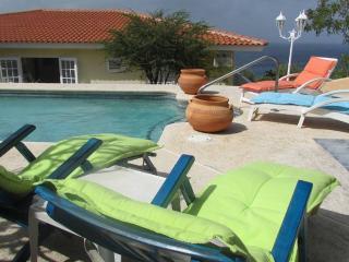 Caribbean Blue Sea Villa on CasAbao