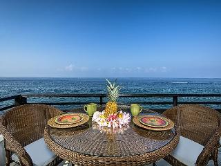 Oceanfront with breathtaking Ocean & Sunset Views, 2 bedroom, 2 bath, AC incl