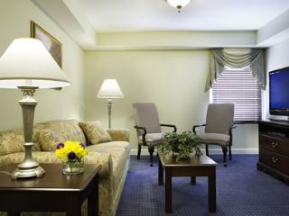 2 bedroom suite at Patrick Henry Square Resort, Williamsburg
