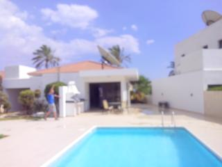 Beautiful pool spacious patio area with bbq for outside dining.