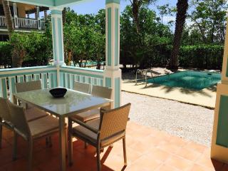 FRED...  affordable 2 BR  townhome/condo with private pool, short, easy walk to