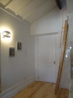 Escada acesso mezzanine