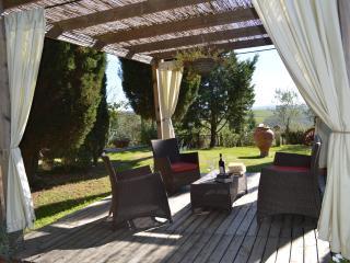 Panoramic Villa  in Crete Senesi air condition, wi-fi