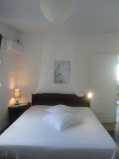 Chambre 1 du 2ème étage. 2 lits jumeaux