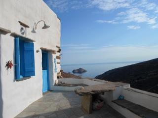 Traditional village house breathtaking views, Tinos