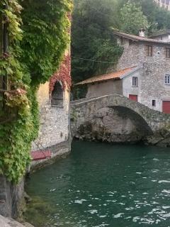 Visit the old Roman Bridge 'Civera' where Hitchcock filmed movie and Leonardo da Vinci wrote about.