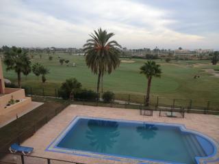 Apartamento con piscina y vistas al campo de golf, Los Alcázares