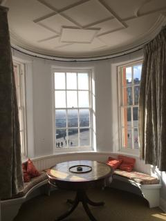 Views of the Castle from Drawing Room