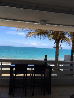Enjoy your cup of coffee/tea and meals in the balcony with a perfect ocean view and breeze