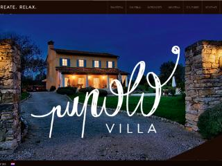 Villa Pupolo with pool Groznjan -Istra Croatia