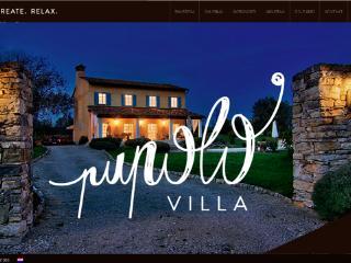 Villa Pupolo with pool Groznjan -Istra Croatia