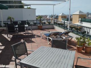 Large terrace, sea & mountain view, Playa Burriana, Nerja