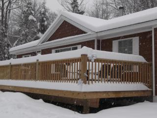 MT SNOW NEW SKI HOME W/E-WEEK-MONTHLY or SEASON  3 BR 2 Bath  1.1 TO Mtn parking