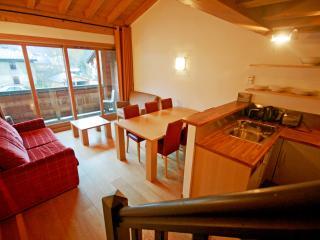 Mazot Prarion : Agréable appartement avec balcon privé, Les Houches