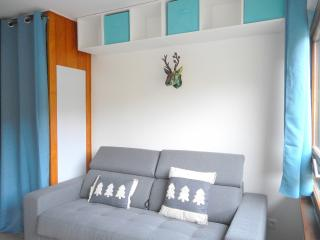 Superb renovated studio with small bedroom, L'Alpe-d'Huez