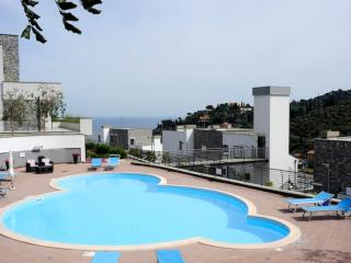 Appartamento vista mare con giardino ad Alassio