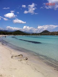 Fantastic santa giulia beach just 5 minutes away!