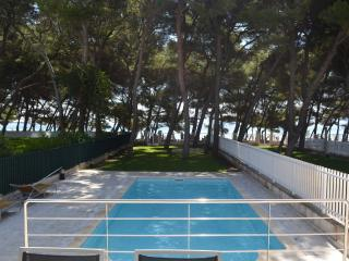 Semidetached house with sea view and pool, Port d'Alcúdia