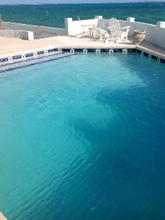 Newly re-surfaced pool
