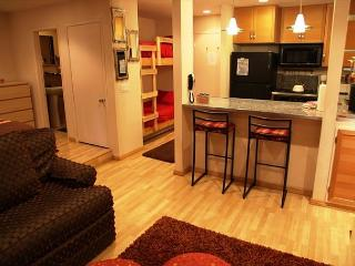 Cozy Studio/1 Bathroom, Sleeps up to 4, Walking distance to Shopping, WiFi, Lagos Mammoth