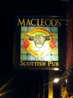Local Scottish Pub in Ballard....love the sign!
