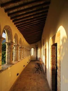 The Loggia at sunset