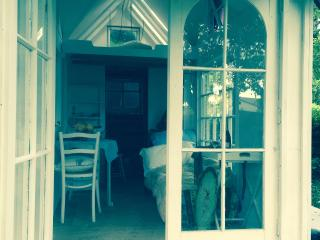 A welcoming and cosy 'tiny house'.