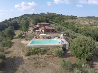 Drone View of Poparello from below the pool, looking north. Summer 2015.
