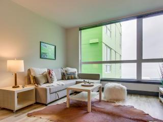 Dog-friendly condo near the waterfront with a shared roof deck, BBQ area & gym!, Seattle