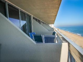 Oceanfront unit with a balcony, views, and a shared pool!, Ocean City