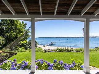 JEWER - West Chop Waterfront,  Private Beach on Sound and Private Beach Rights t