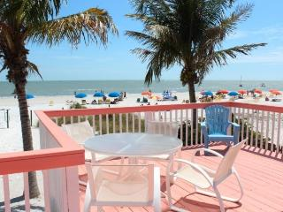 Margaritaville, our Key West style Beachfront North End Cottage now with Sun Palace Vacations - Code: Margaritaville, Fort Myers Beach