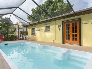 Isle del Sol is a Spacious and Private Pool home just a short walk to the Pier and Beach. - Code: Isle del Sol, Fort Myers Beach